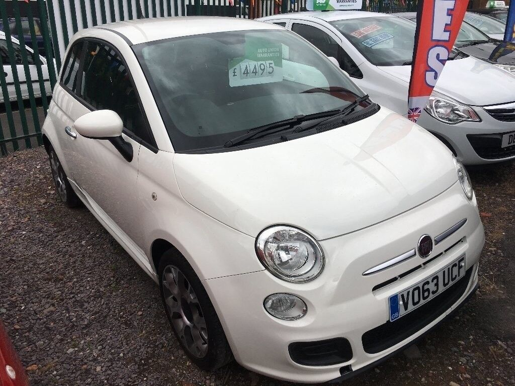 2013 Fiat 500 0.9 TwinAir S 3dr (Cat D Repaired Professionally)
