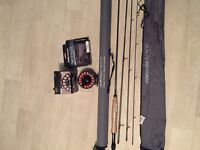 Scierra fly rod and reel with full backing