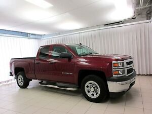 2014 Chevrolet Silverado 1500 4X4 DOUBLE CAB 6PASS, ONE OWNER TR