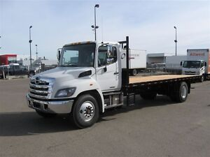 2017 Hino 338/253, 24 FT.,Flat Deck, Tool Box, LED Workin...