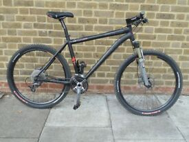 Specialized M5 Hardtail 19 inch; black - RockShox SID fork and Thomson seatpost and stem with XTR