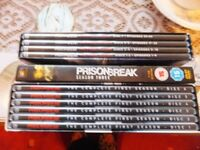 Prison Break DVDs