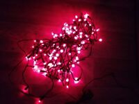 2 sets of xmas tree light decorations