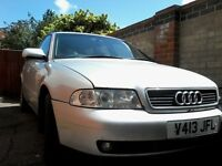 Audi A4 Avant Good runner but needs work, or for spares