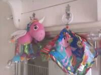 Lamaze Tilly Tinklewings Unicorn Pram Toy Book