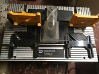 Pro router table and router