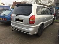 vauxhall zafira gsi z20let turbo breaking for spares