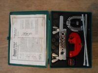 Car motorbike Kamasa brake pipe flaring tool kit unused mechanic