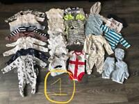 Baby boys clothing bundle