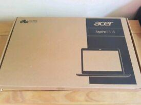 Brand new Acer ES 15.6 Inch Pentium 8GB 2TB Laptop - Black