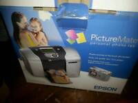 New Epson Picturemate photo printer + photo paper