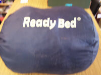 "Childs ""Readybed"" sleeping bag navy blue 28"" x 58"" long"