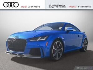 2018 Audi TT RS 2.5T quattro 7sp S tronic Cpe Be Seen. Be Heard.