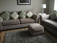 Settees and Footstool