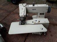 Industrial Blind stitch sewing machine