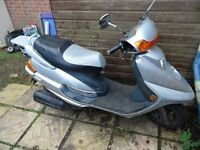 For sale Baotian BT125T-9 in good condition and 11 months MOT