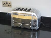 Dualit 4-Slice Classic Toaster - Stainless Steel + Toasted Sandwich Accessory