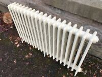 Traditional cast iron radiator, 48 inches; x 30 inches; high