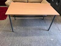 Solid beech wood desk/ table £30