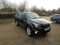 Ssangyong Korando Sports Ext (black) 2013