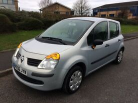 Renault Modus 1.2 16v Expression. MOT October 2018, Runs and Drives VERY well, a nice family car