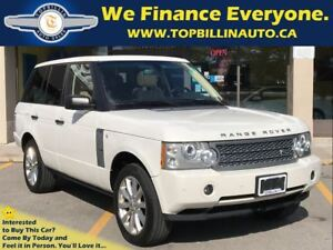 2008 Land Rover Range Rover Supercharged, Fully Loaded, 107K kms