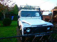 land rover defender 110 3 door hardtop camper base? quick sale needed