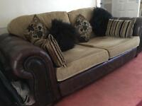 USED COUSINS SOFA & 2 LOVE CHAIR @REFURBED@ 3k NEW!! MUST GO!! GOOD CONDITION!!