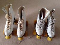 Roller skating boots - Girls Roller Derby - sizes 7 & 8