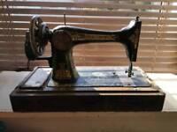 Vintage singer sewing machine spares or repair.