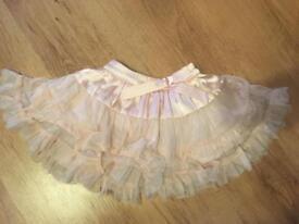 Next pale pink tutu 12-18 months