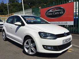 2012 62 Volkswagen Polo 1.2 TSI SEL 5dr Turbo Petrol 6 Speed Manual Low Miles 2 Owners