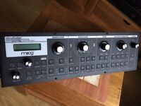 Moog Slim Phatty Little 3u rack real analogue mono synth and filter