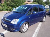 Vauxhall Meriva 1.7 dti DIESEL active MPV superb family car with loads of room inside and large boot