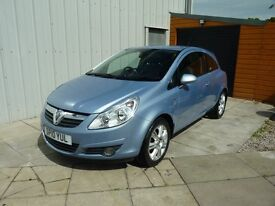 Vauxhall Corsa 1.2 Design Top of Range only 28K Miles Low Insurance