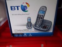 BT FREELANCE TWIN SET CORDLESS HOME PHONES