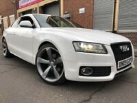 Audi A5 2009 2.0 TDI S Line 2 door COUPE, FACELIFT, LED PACK, F/S/H, LEATHER,...