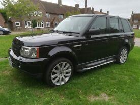 black beauty, Range rover sport Twin turbo v8 DIESEL! very powerful economical luxury 4x4