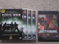 American civil war DVD's x 4