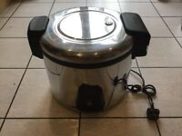 Rice Cooker Buffalo 6 Litre Large Capacity Commercial Rice Cooker