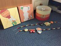 Mamas and Papas Nursery accessories