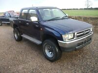HILUX WANTED NORTH YORKSHIRE ANY CONDITION CALL MARTIN
