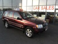 2001 Y JEEP GRAND CHEROKEE 4.7 V8 LIMITED 5d 220 BHP **** GUARANTEED FINANCE **** PART EX WELCOME
