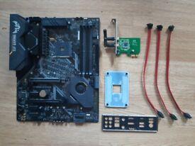 ASUS TUF GAMING X570 PLUS MoBo + ASUS WiFi PCIe card