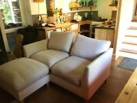NEARLY NEW Farringdon Debenhams Chaise Sofa