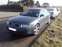 2001 Audi A4 B6 2.5 TDI Quattro BREAKING FOR PARTS SPARES Saloon Manual Grey