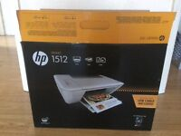 White HP 1512 deskjet Printer