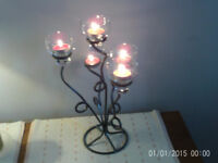 Ornamental candle £5