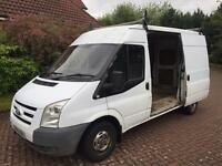 1 year mot ford transit t280 2.2tdci mwb fwd semi high top mk7