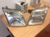 Ford transit connect head lights
